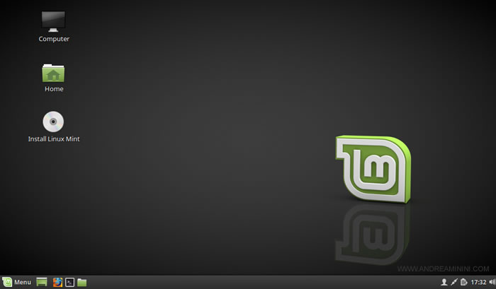 cliccare su Install Linux Mint